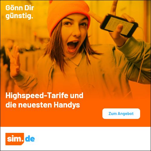 AKTION: Allnet-Flat & 8+8 GB LTE für nur 14,99 € mtl.